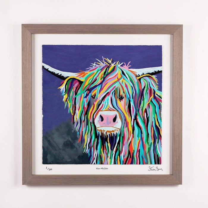 Kev McCoo - Framed Limited Edition Floating Prints