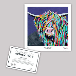 Kev McCoo - Mini Limited Edition Print