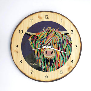 Kev McCoo- Wooden Clock