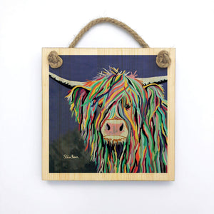 Kev McCoo - Wooden Wall Plaque