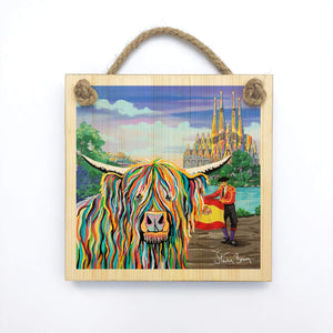 Kyle McCoo - Wooden Wall Plaque