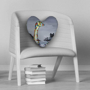 Lady Mcnessie - Heart Cushion
