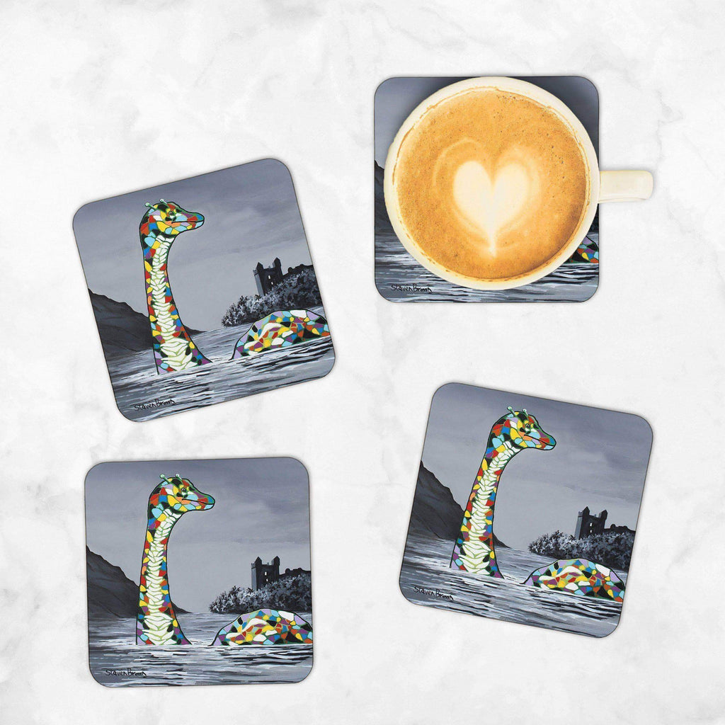 Lady McNessie - Set of 4 Coasters