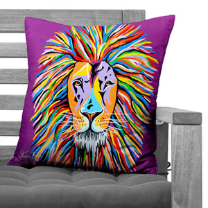 Lewis McZoo - Faux Suede Cushions