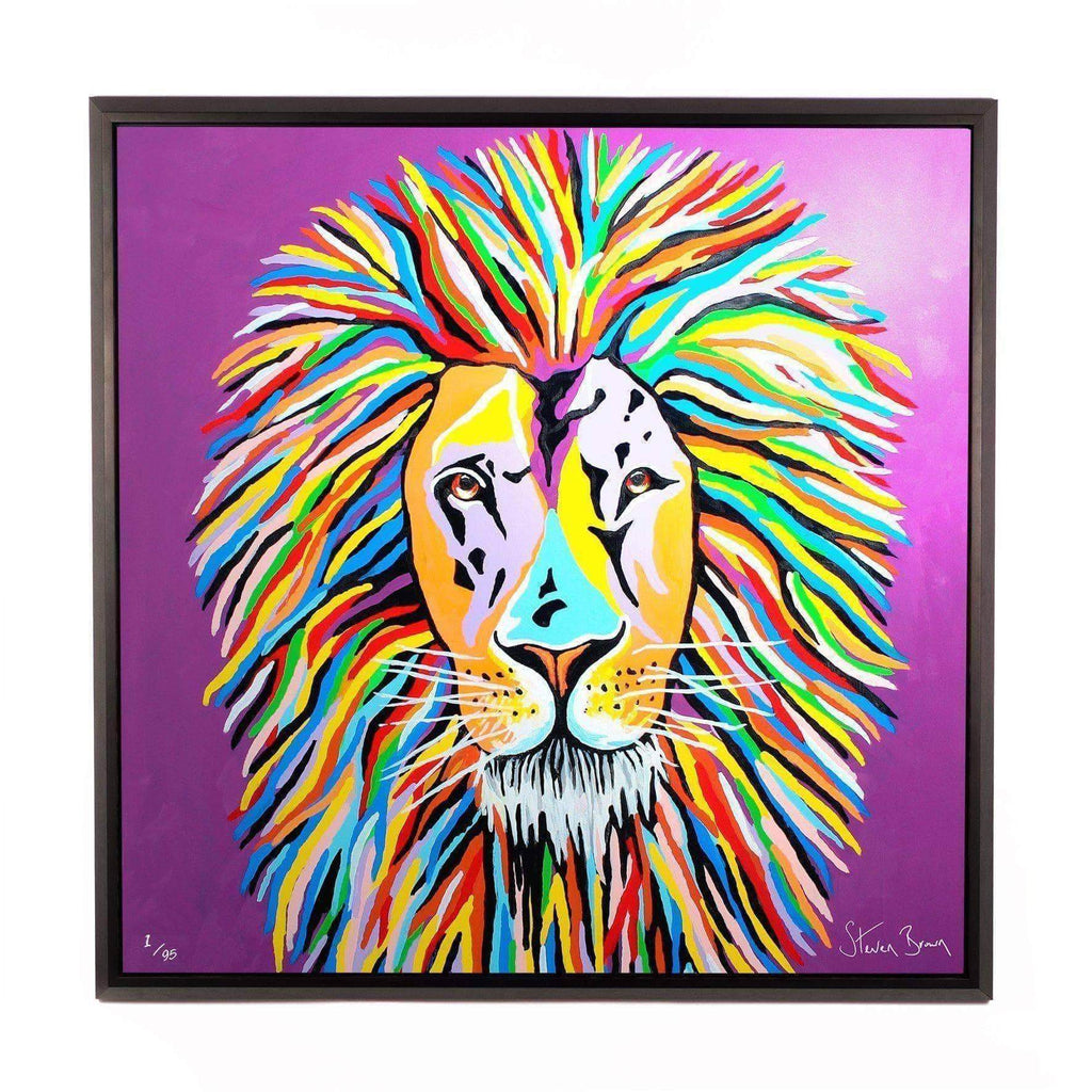 Lewis McZoo - Framed Limited Edition Aluminium Wall Art