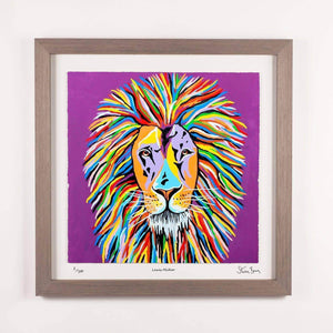 Lewis McZoo - Framed Limited Edition Floating Prints