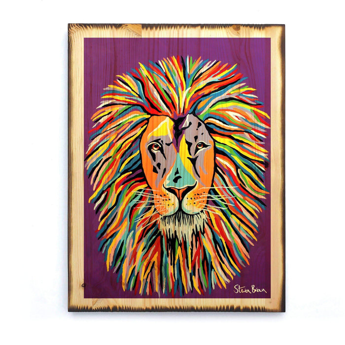 Lewis McZoo - Timber Print