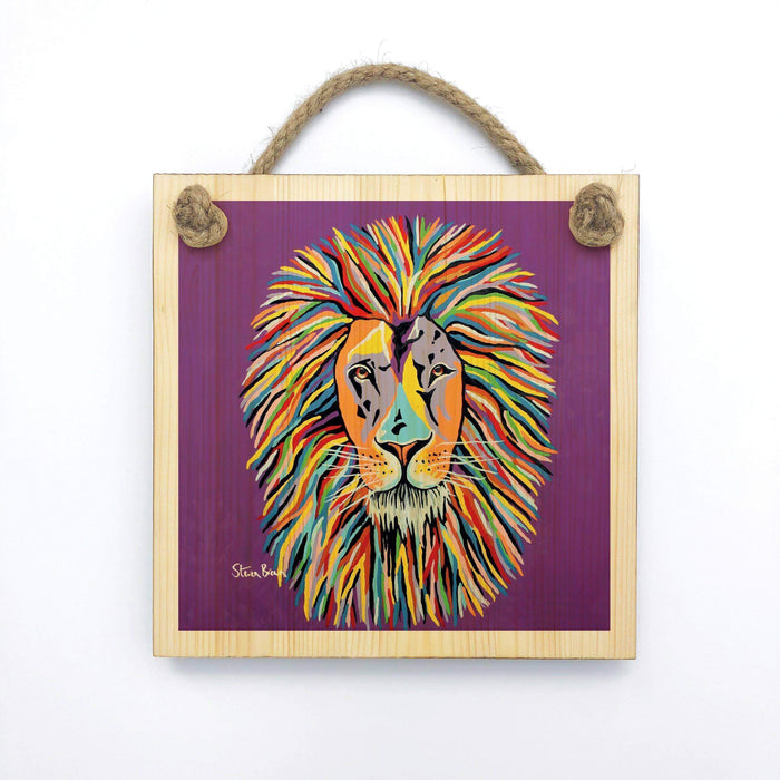 Lewis McZoo - Wooden Wall Plaque