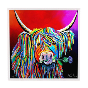 Lizzie McCoo - Framed Limited Edition Aluminium Wall Art