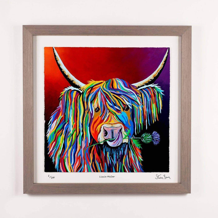 Lizzie McCoo - Framed Limited Edition Floating Prints