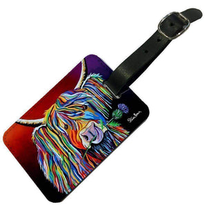 Lizzie McCoo - Luggage Tag