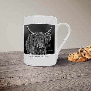 Lizzie McCoo The Noo - Bone China Mug