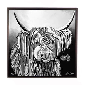 Lizzie McCoo The Noo - Framed Limited Edition Aluminium Wall Art