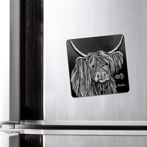 Lizzie McCoo The Noo - Fridge Magnet