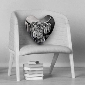 Lizzie McCoo The Noo - Heart Cushion