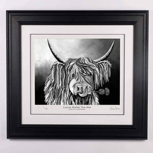 Lizzie McCoo The Noo - Platinum Limited Edition Prints