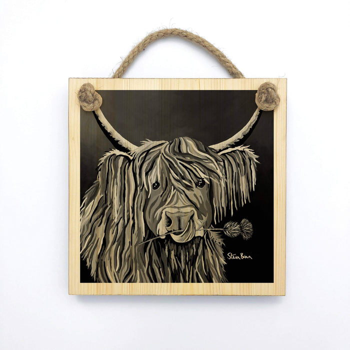 Lizzie McCoo The Noo - Wooden Wall Plaque