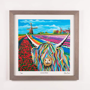 Lorraine McCoo - Framed Limited Edition Floating Prints