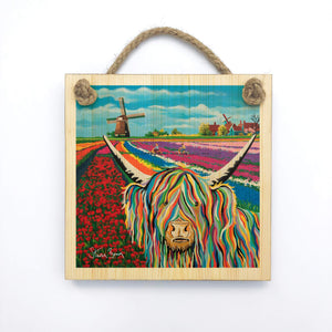 Lorraine McCoo - Wooden Wall Plaque