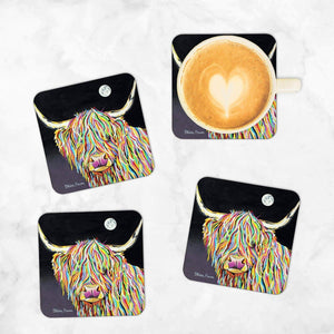 Maggie McCoo - Set of 4 Coasters