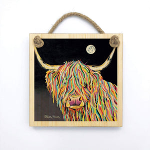 Maggie McCoo - Wooden Wall Plaque