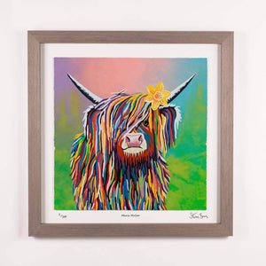 Marie McCoo - Framed Limited Edition Floating Prints