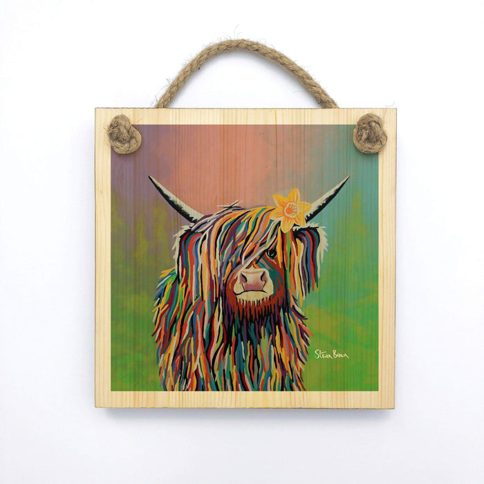 Marie McCoo - Wooden Wall Plaque
