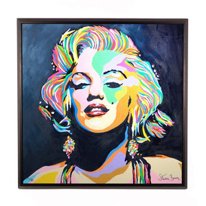 Marilyn Monroe - Framed Limited Edition Aluminium Wall Art