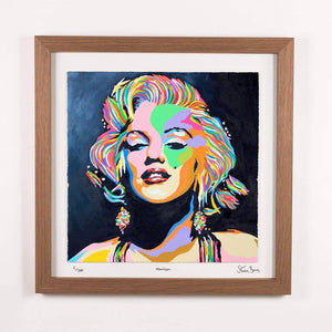Marilyn Monroe - Framed Limited Edition Floating Prints