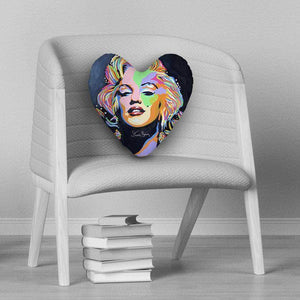 Marilyn Monroe - Heart Cushion