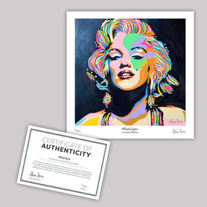 Marilyn Monroe - Mini Limited Edition Print