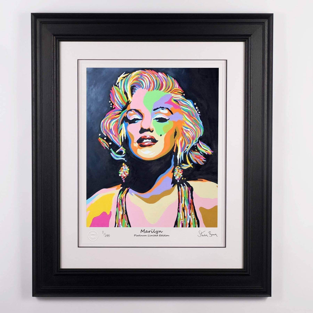 Marilyn Monroe - Platinum Limited Edition Prints