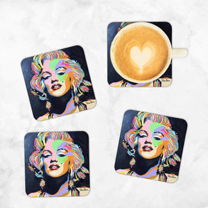 Marilyn Monroe - Set of 4 Coasters