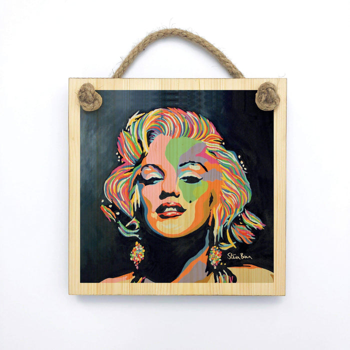 Marilyn Monroe - Wooden Wall Plaque