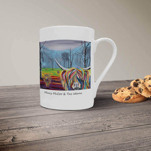 Mary McCoo & The Weans - Bone China Mug