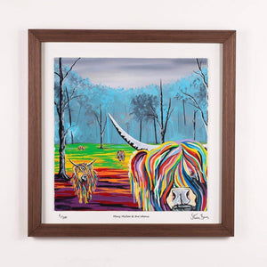 Mary McCoo & The Weans - Framed Limited Edition Floating Prints