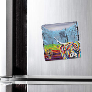 Mary McCoo & The Weans - Fridge Magnet