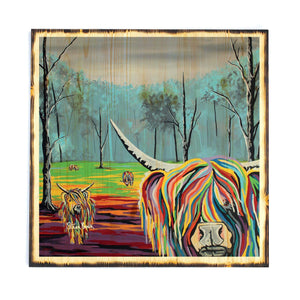 Mary McCoo & The Weans - Timber Print