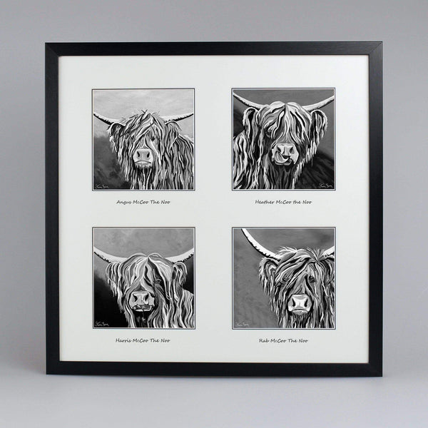 McCoos The Noo Collection - Quad Framed