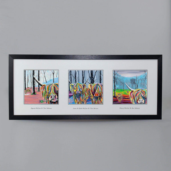 McCoos & Weans Collection - Triptych
