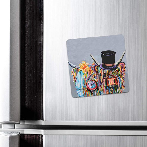 McHappily Ever After - Fridge Magnet