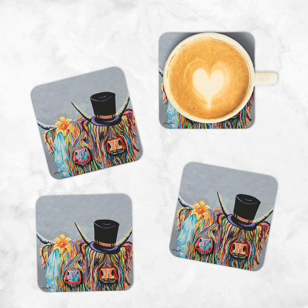 McHappily Ever After - Set of 4 Coasters