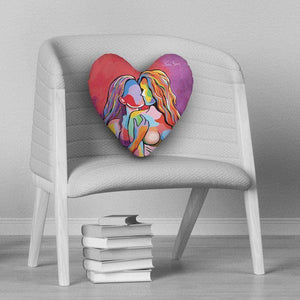 McLovin Her - Heart Cushion