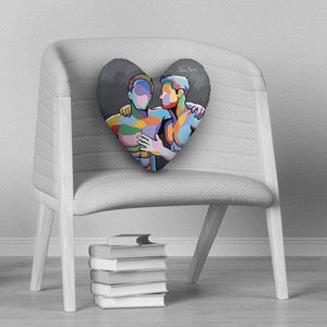 McLovin Him - Heart Cushion