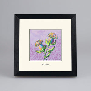 McThistles - Digital Mounted Print