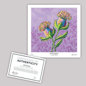 McThistles - Mini Limited Edition Print