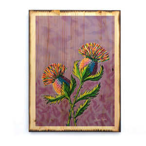 McThistles - Timber Print