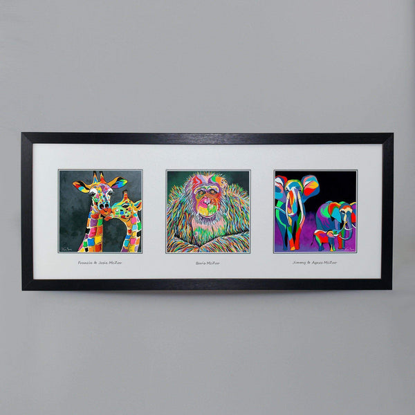 McZoos Collection - Triptych