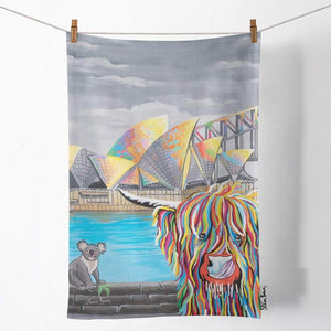 Mick McCoo - Tea Towel