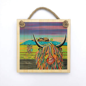 Morag McCoo - Wooden Wall Plaque